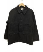 STABILIZER GNZ(スタビライザージーンズ)の古着「ゲームジャケット」|ブラック