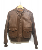 Buzz Ricksons(バズリクソンズ)の古着「A-2レザージャケット」|ブラウン