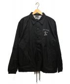THRASHER(スラッシャ)の古着「コーチジャケット」|ブラック