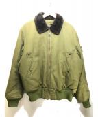 ()の古着「B-15フライトジャケット」|オリーブ