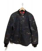 DIESEL(ディーゼル)の古着「SUPERIOR PROTECTION  JACKET」|ネイビー