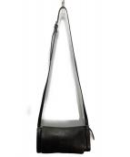 IL BISONTE(イルビゾンテ)の古着「筒型ショルダーバッグ」|ブラック