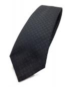 LOUIS VUITTON(ルイ ヴィトン)の古着「ネクタイ」|ブラック