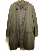 ()の古着「60sステンカラーコート」|ブラウン