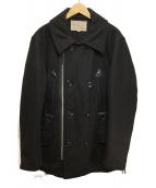 AVIREX(アビレックス)の古着「CUSTOM PEA JACKET」|ブラック