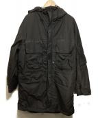 C.P COMPANY(シーピーカンパニ)の古着「フーデッドコート」|ブラック