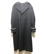 Ys(ワイズ)の古着「ロングコート」|ネイビー