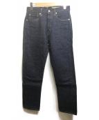 BONCOURA(ボンクラ)の古着「デニムパンツ」|ブルー