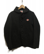 DANTON(ダントン)の古着「丸襟ウールモッサジャケット」|グレー
