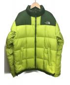 THE NORTH FACE(ザノースフェイス)の古着「LHOTSE JACKET」|ライトグリーン×グリーン