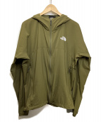 THE NORTH FACE(ザノースフェイス)の古着「Swallowtail Hoodie」|オリーブ