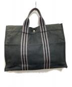 HERMES(エルメス)の古着「トートバッグ」|ブラック