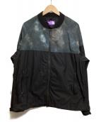 THE NORTHFACE PURPLELABEL(ザノースフェイスパープルレーベル)の古着「マウンテンフィールドジャケット」 グレー×ブラック
