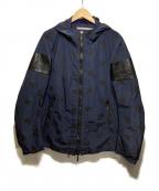 Francis T MOR.K.S(フランシストモークス)の古着「ジャケット」|ネイビー×ブラック