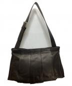 kawa-kawa(カワカワ)の古着「レザーショルダーバッグ」|ブラック