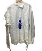 ader error(アーダーエラー)の古着「Deltia shirt」|ホワイト