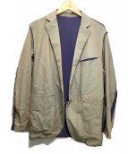 PHINGERIN(フィンガリン)の古着「PINCHY BLAZER SLD」|玉虫色