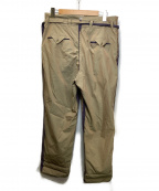 PHINGERIN()の古着「PINCHY TROUSERS SLD」|玉虫色