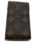 LOUIS VUITTON(ルイヴィトン)の古着「シガレットケース」|ブラウン