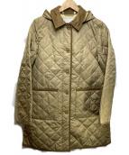 MACKINTOSH PHILOSOPHY(マッキントッシュフィロソフィー)の古着「ポランプロテクトキルティングフーデッドコート」|ベージュ