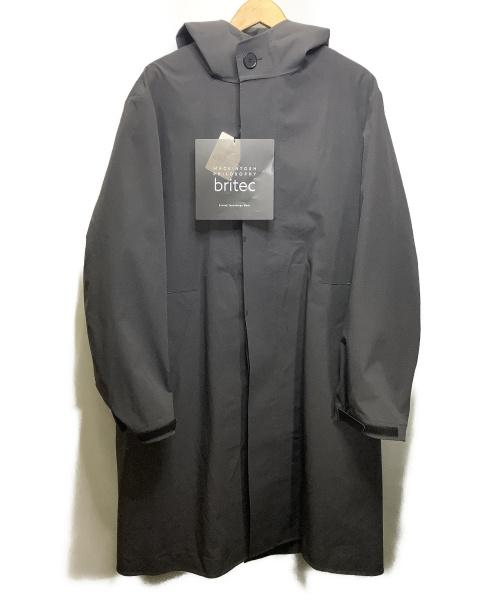 MACKINTOSH PHILOSOPHY(マッキントッシュフィロソフィー)MACKINTOSH PHILOSOPHY (マッキントッシュフィロソフィー) ダウンライナー付きフーデッドコート ブラック サイズ:38 未使用品の古着・服飾アイテム