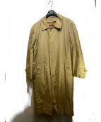 Burberrys(バーバリーズ)の古着「ライナー付きステンカラーコート」|ベージュ