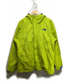 THE NORTH FACE(ザノースフェイス)の古着「スクープジャケット」|ライムグリーン