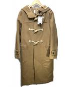 HUMAN WOMAN(ヒューマンウーマン)の古着「H.STANDARD限定ダッフルコート」|ベージュ