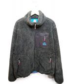 CHUMS(チャムス)の古着「ボンディングフリースジャケット」|グリーン