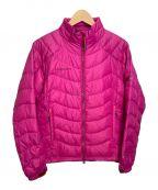 MAMMUT()の古着「ライトダウンジャケット」|ピンク