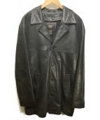 COACH(コーチ)の古着「ライナー付レザーコート」|ブラック