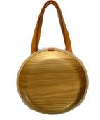 ()の古着「木製バッグ」|ナチュラル