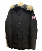 CANADA GOOSE(カナダグース)の古着「JASPER PARKA」|ブラック