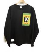 WTAPS(ダブルタップス)の古着「長袖カットソー」|ブラック