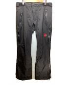 MAMMUT(マムート)の古着「パンツ」|ブラック