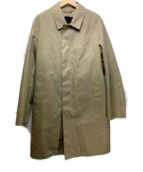 MACKINTOSH PHILOSOPHY(マッキントッシュフィロソフィー)MACKINTOSH PHILOSOPHY (マッキントッシュフィロソフィー) WELLINGTON コットンボンディング ステンカラーコー カーキ サイズ:42の古着・服飾アイテム