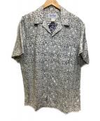 ()の古着「アロハシャツ」|ホワイト×ネイビー