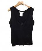 Christian Dior()の古着「タンクトップ」 ブラック