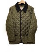 Traditional Weatherwear(トラディショナルウェザーウェア)の古着「キルティングジャケット」|オリーブ