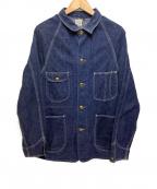 orSlow()の古着「1950 カバーオール」 ブルー