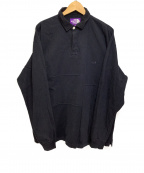 THE NORTHFACE PURPLELABEL()の古着「ラガーシャツ」 ブラック