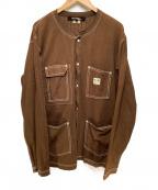 JUNYA WATANABE MAN(ジュンヤワタナベマン)の古着「ワークシャツ」 ブラウン