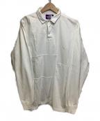 THE NORTHFACE PURPLELABEL()の古着「RUGBY SHIRT」|ホワイト
