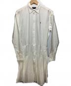 POLO RALPH LAUREN()の古着「シャツワンピース」|ホワイト