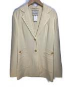 ()の古着「オールドテーラードジャケット」|ベージュ