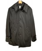 ()の古着「ライナー付コート」 ブラック