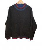UMIT BENAN(ウミットベナン)の古着「ニット」|ネイビー×ブラウン
