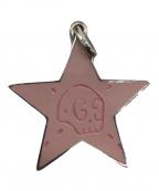 GUCCI(グッチ)の古着「ゴーストスターペンダント」|ピンク