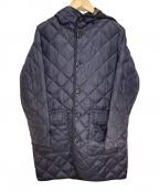 Gymphlex(ジムフレックス)の古着「キルティングダウンコート」 ネイビー