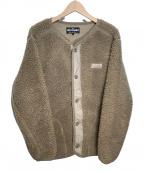 WILD THINGS(ワイルドシングス)の古着「ボアジャケット」|ブラウン